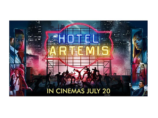 HOTEL ARTEMIS SWAG BAG sweepstakes