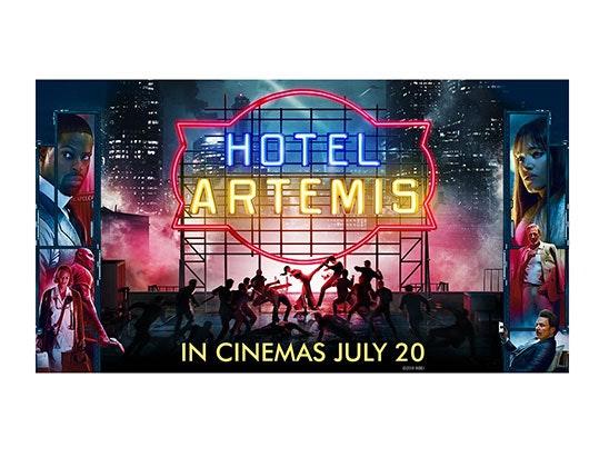HOTEL ARTEMIS SWAG BAG sweepstakes
