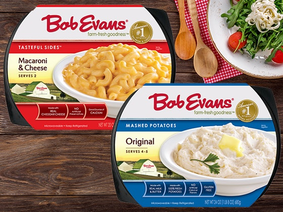 Year's Supply of Bob Evans Farms Sides and Family Classics sweepstakes