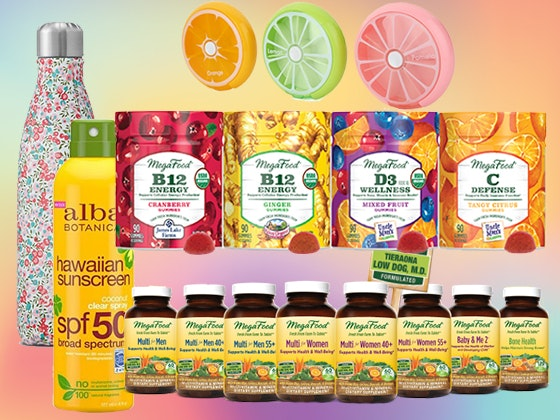 Megafood Summer Wellness Prize Package sweepstakes