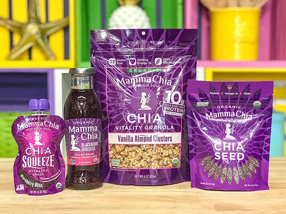 Mamma Chia Prize Pack and a $50 Gift Card sweepstakes