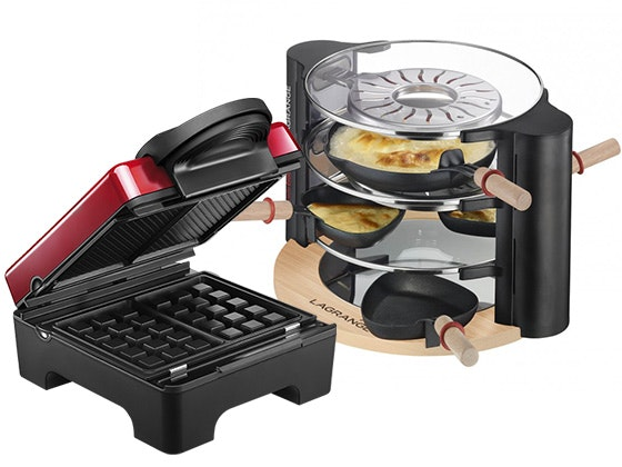 Lagrange Waffle Maker and Evolution Raclette Maker sweepstakes