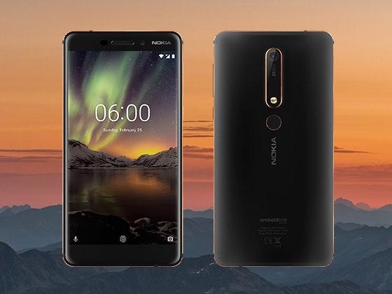 Nokia 6.1 Smartphone sweepstakes