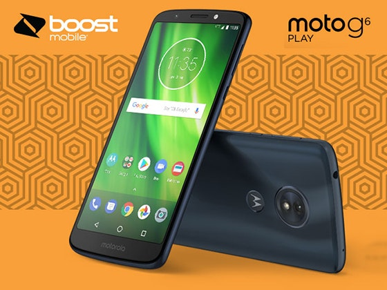 moto g6 play Smartphone from Boost Mobile sweepstakes