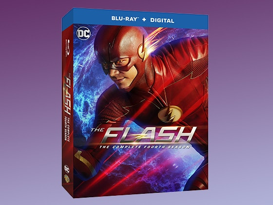 The Flash: The Complete Fourth Season on Blu-ray sweepstakes
