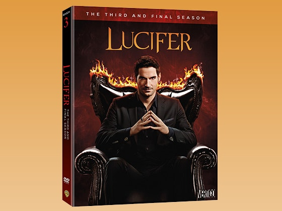 Lucifer: The Complete Third Season on DVD sweepstakes