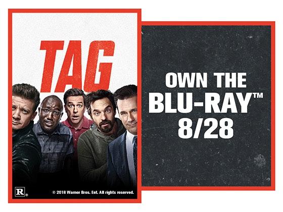 TAG on Digital HD sweepstakes