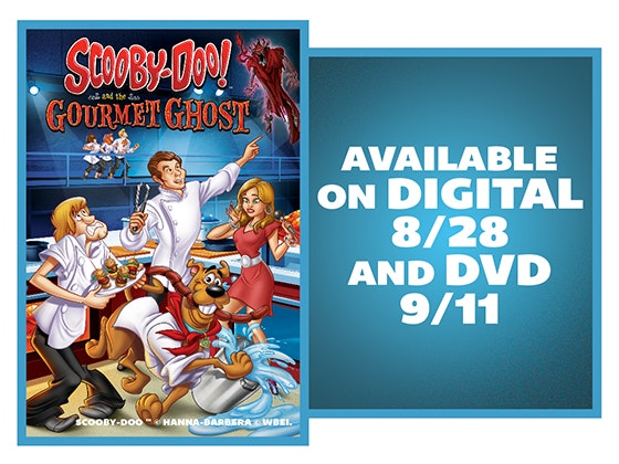 Scooby-Doo! And the Gourmet Ghost on DVD sweepstakes