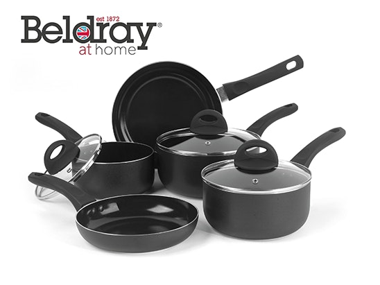 5 Piece Non-Stick Pan Set  sweepstakes