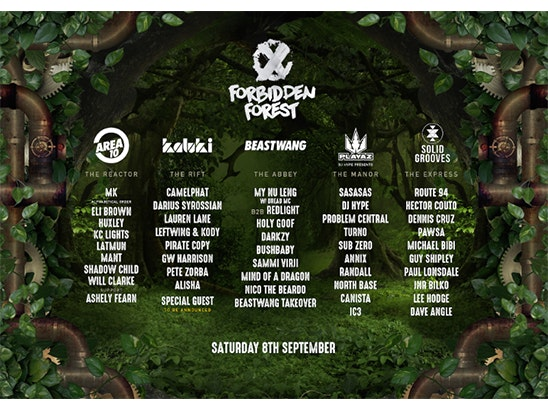 FORBIDDEN FOREST FESTIVAL sweepstakes