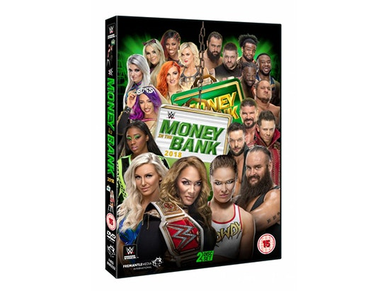 WWE:MONEY IN THE BANK sweepstakes