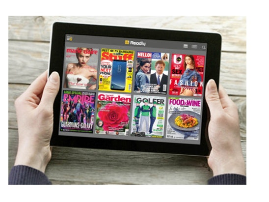 year's worth of unlimited magazine reading for free. sweepstakes