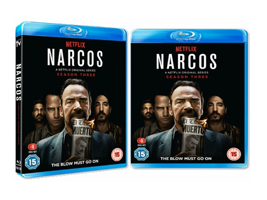 Narcos S3 sweepstakes
