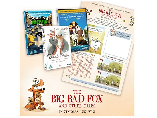 THE BIG BAD FOX AND OTHER TALES sweepstakes