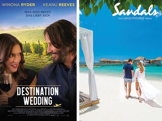 Gewinnt mit Destination Wedding Gewinnspiel