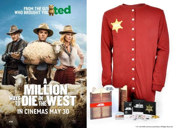 A Million Ways to Die in the West bundle sweepstakes