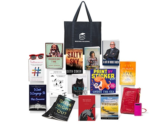 Bedside Reading Gift Bag for August sweepstakes
