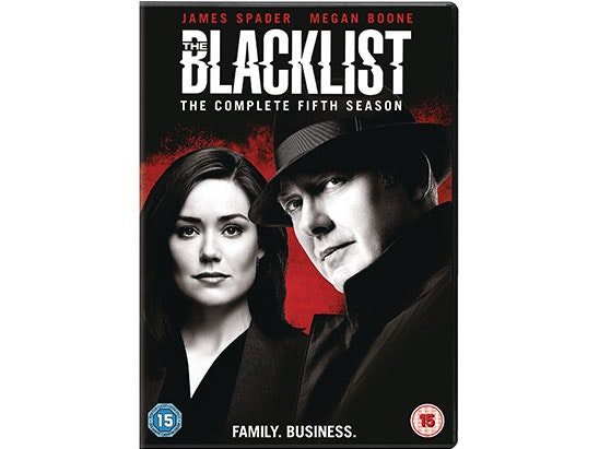 Blacklist S5 dvd sweepstakes
