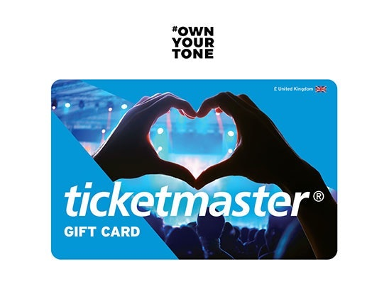 Win a £100 Ticketmaster gift card sweepstakes