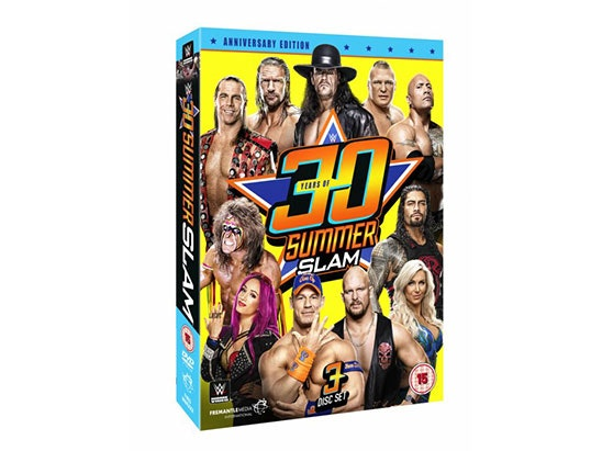 WWE: 30 Years of SummerSlam sweepstakes