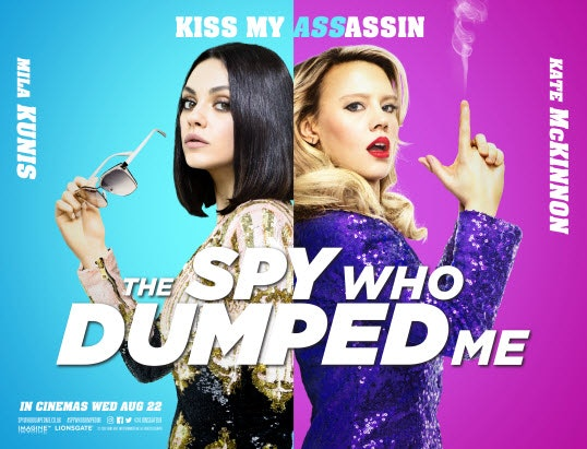 Spy who dumped  me digital quad r1 bauer