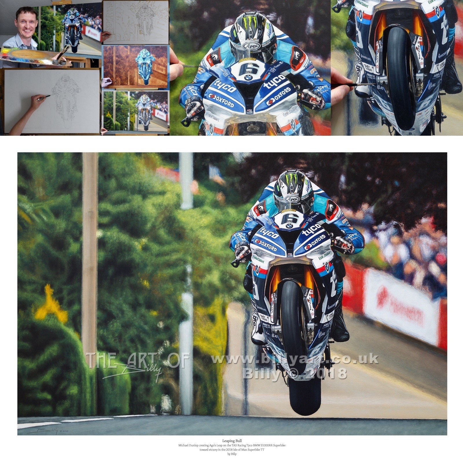 Michael dunlop   billy art