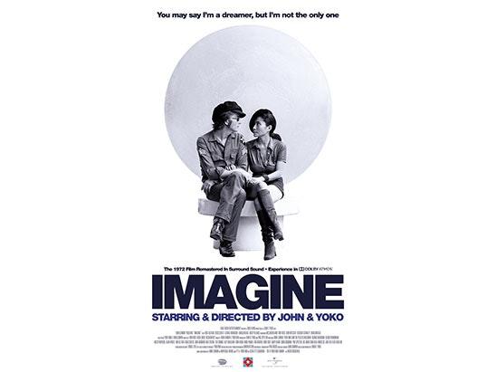 JOHN LENNON & YOKO ONO - 'IMAGINE' sweepstakes