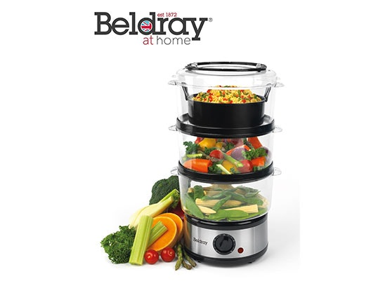 BELDRAY 3 TIER STEAMER sweepstakes