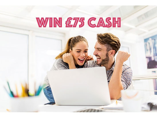 £75 cash sweepstakes