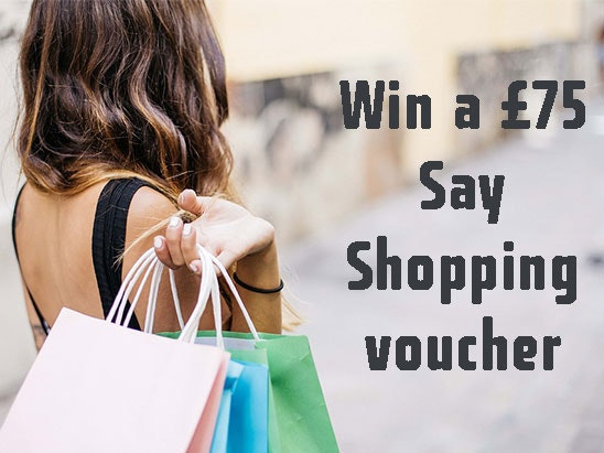 Say Shopping voucher sweepstakes