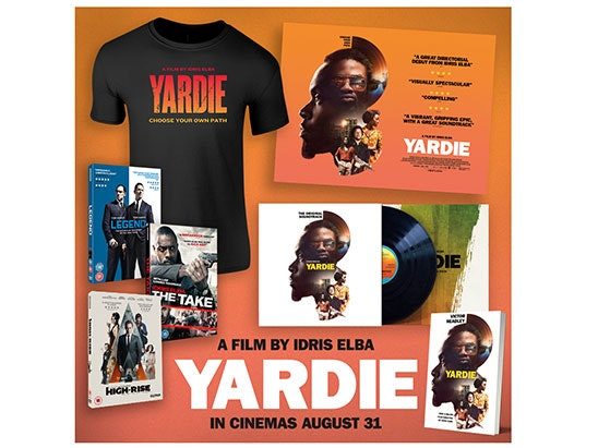 YARDIE MERCH – IN CINEMAS AUGUST 31  sweepstakes