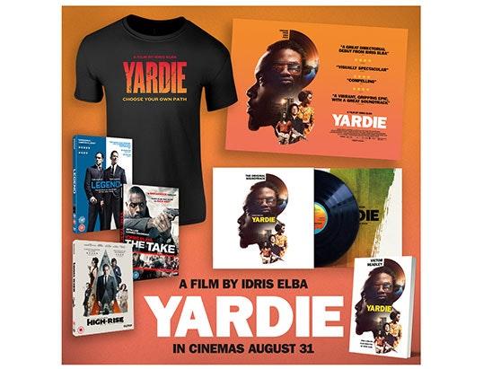 YARDIE MERCH – IN CINEMAS AUGUST 31  sweepstakes