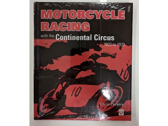 Motorcycle Racing with the Continental Circus book sweepstakes