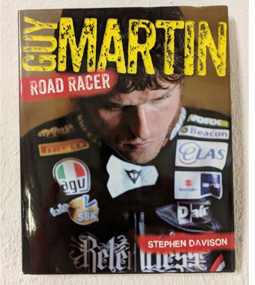 Guy Martin - Road Racer book sweepstakes