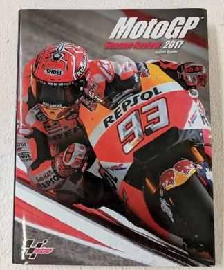 MotoGP Season Review 2017 book sweepstakes