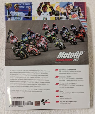MotoGP Season Review 2017 book sweepstakes