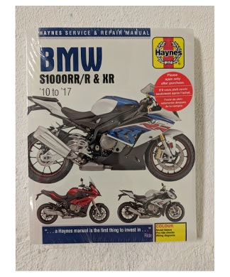 Haynes BMW S1000R manual sweepstakes