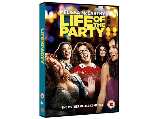 'LIFE OF THE PARTY' DVD sweepstakes