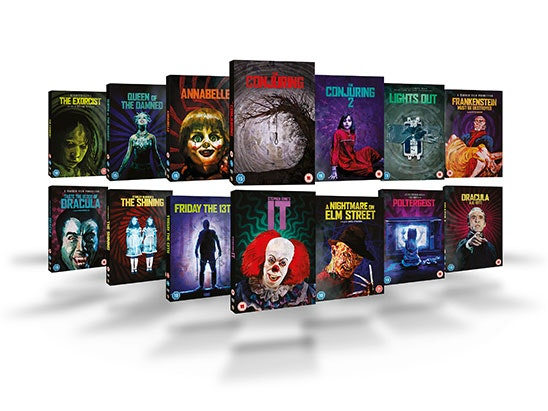Warner Bros. Horror Collection sweepstakes