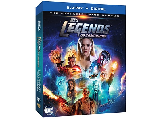 DC's Legends of Tomorrow: The Complete Third Season on Blu-ray™ sweepstakes