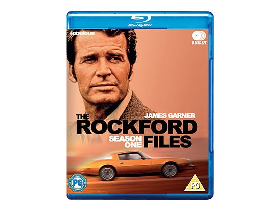 The Rockford Files Season One blu-ray! sweepstakes