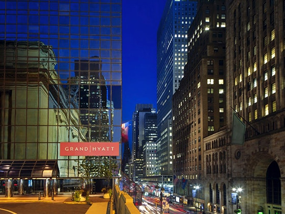 Grand Hyatt New York Hotel Trip Giveaway sweepstakes