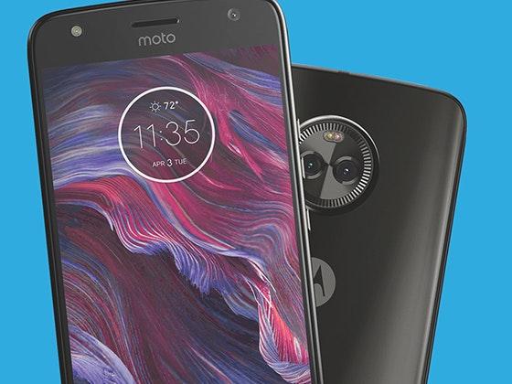 Moto X4 Smartphone sweepstakes