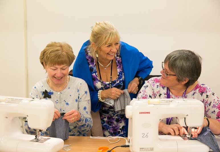 Tickets for the knitting and stitching show  sweepstakes