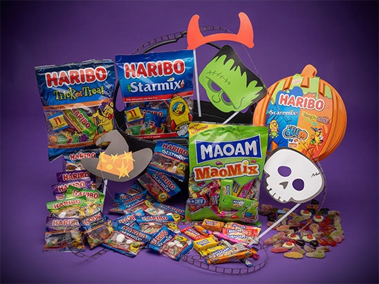 WIN A SPOOKY NIGHT IN WITH HARIBO sweepstakes