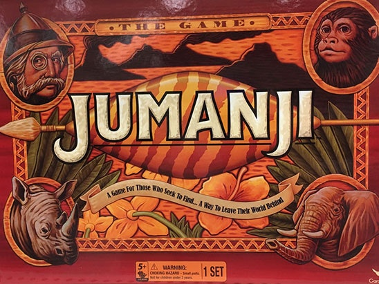 Jumanji game sweepstakes