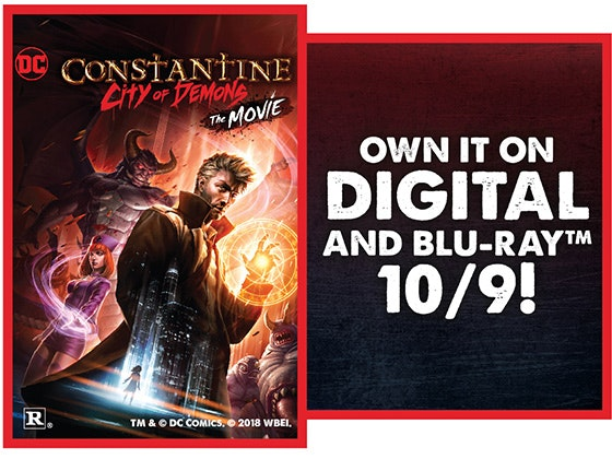 Constantine: City of Demons sweepstakes
