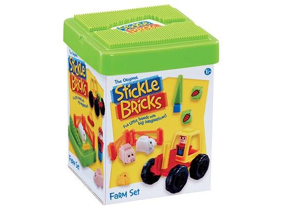 Stickle Bricks Fire Engine and Farm Set sweepstakes