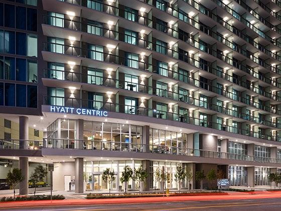 Hyatt Centric Brickell Miami Hotel sweepstakes