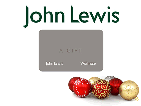 WIN A £500 JOHN LEWIS VOUCHER sweepstakes